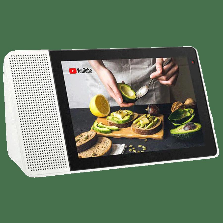 Lenovo 25.40 cm Smart Display with Google Assistant (SD-X501F, Black)