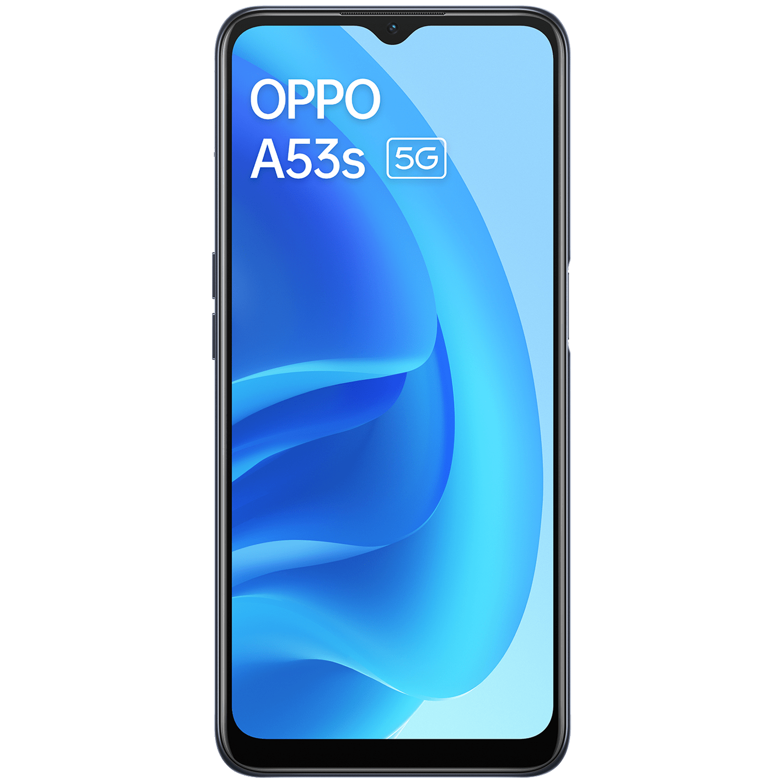 [For ICICI Card] Oppo A53s (128GB ROM, 8GB RAM, CPH2321, Ink Black)