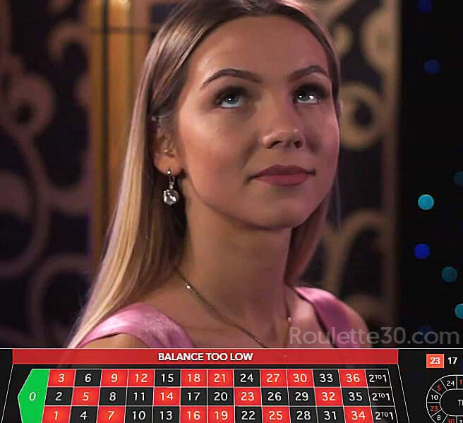 immersive roulette live dealer